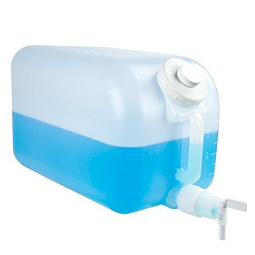Tolco - 3102 5 Gallon Plastic Dispenser Carboy with Spigot, HDPE, Natural