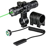 Upgarded Green Dot Laser Scope Shockproof 520nm Tactical Laser Sight Rifle Gun Scope