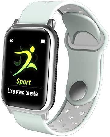 Smartwatch, F8S Hartslagmeting met Blood Oxygen Fitness Tracker Sporthorloge voor mannen, vrouwen, tieners