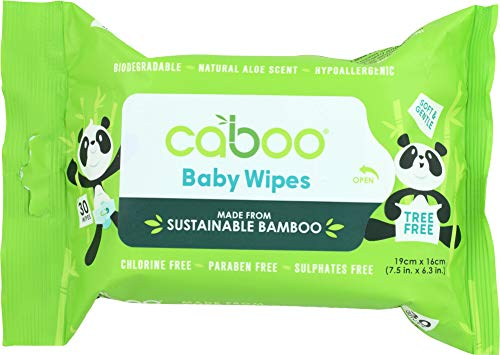 (NOT A CASE) Wipe Baby Bamboo Flip Top, 30 Packs