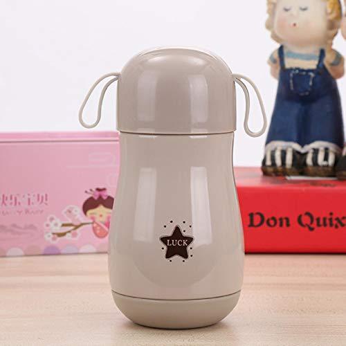 shian Thermos Portable 300ML con Filtro Termo de Acero Inoxidable Taza Taza de café Botella de Agua Travel-15-300ML