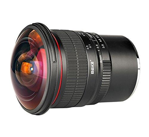Meike lens voor Sony E-Mount, Fisheye 8,0 mm F3.5 voor Sony E-Mount