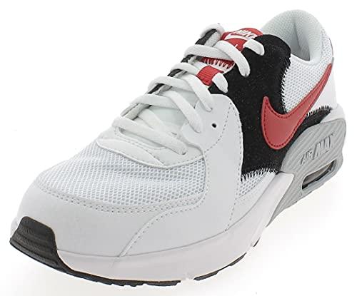 Nike AIR MAX EXCEE (GS) Laufschuh, White University Red Black WOL, 38.5 EU