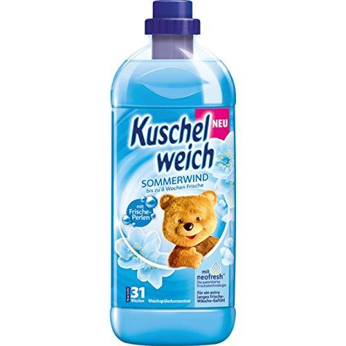6er Vorratspack Kuschelweich Weichspüler 1000ml Sommerwind (6 * 1000ml)
