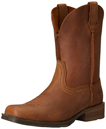 Ariat Women's Rambler Western Cowboy Boot, Dusted Brown, 8 B US