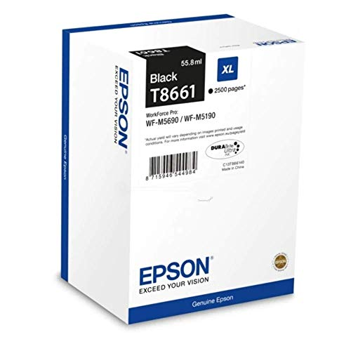 Epson C13T866140 Original Tintenpatronen Pack of 1