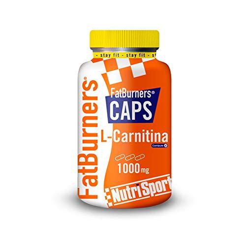 Nutrisport - Fatburner Caps, L-Carnitina, Quemagrasas, 105 cápsulas 1000 g