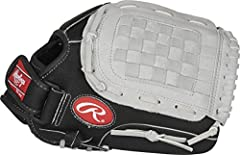 DESIGNED AS A UTILITY GLOVE FOR ANY POSITION, this 11.5 inch Sure Catch Basket Web youth baseball glove has a game-ready feel right out of the box thanks to the 90% Rawlings factory break-in DESIGNED FOR YOUTH PLAYERS AGES 4 TO 10 this glove is easy ...