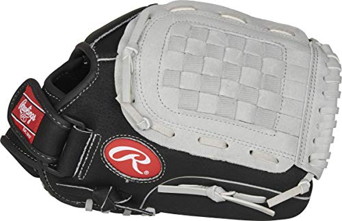 Rawlings Sure Catch Series Youth Baseball Glove, Basket Web, 11.5 inch, Right Hand Throw