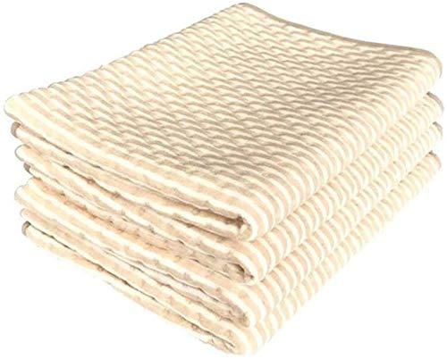 WANGPP wasserdichte Bed Pads, Wiederverwendbare-Schutz und Inkontinenz Pad 3 Ebenen Schutz Toiletten-Trainings-Schlaf-Matte for Kinder 6.16 (Size : 80 * 90cm)