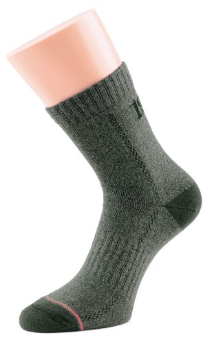 1000 Mile Herren Walking Socken 1950 All Terrain Socks, Granit, L, 1950GL