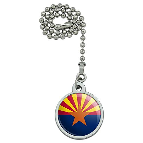 GRAPHICS & MORE Arizona State Flag Ceiling Fan and Light...