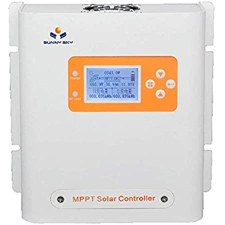 50A MPPT Solar Charge Controller Dual USB LCD Display Auto Solar Cell Panel R6H4