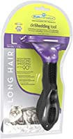 Reduces shedding up to 90% Stainless steel deShedding edge reaches deep beneath your dog's long topcoat to gently remove undercoat and loose hair FURejector button cleans and removes loose hair from the tool with ease Used and recommended by veterina...