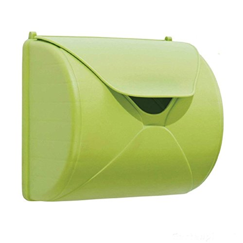 Gartenwelt Riegelsberger Boîte aux lettres vert pomme pour enfant - Jouet pour enfant pour maison de jeu, tour de jeu ou maison d'arbre