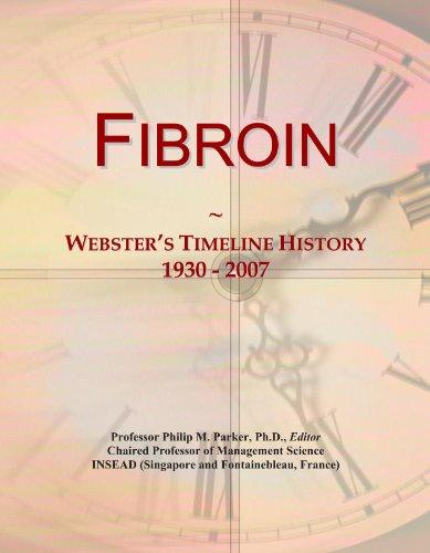 Fibroin: Webster's Timeline History, 1930 - 2007