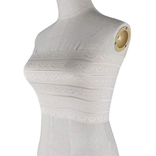 CNMJF Korsett gewickelte Brust Sommer COS Frauen gekleidet als Männer Drei-reihige Schnalle Verstellbare Elastische Taille Atmungsaktiv unsichtbares dünnes Fach