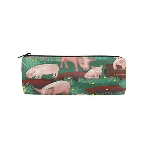 Pink Pigs Trousse à maquillage cylindrique Petit format