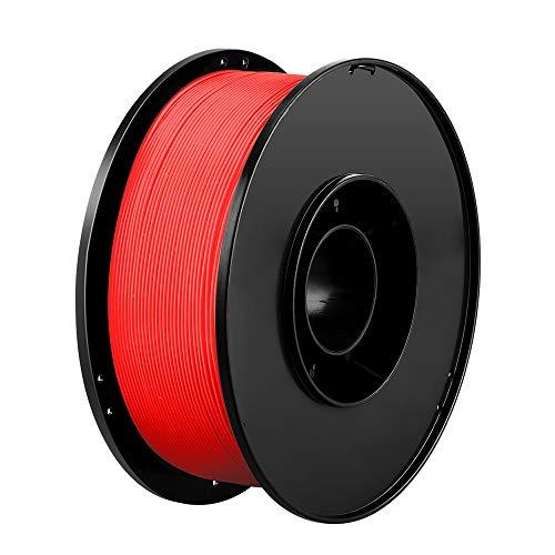 Anbull PLA + Filament 1.75mm, 3D Drucker PLA+ Filament 1KG, Rot