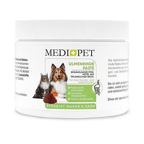Medipet 500g Premium Ulmenrinde Paste für Hunde, bessere Verdauung und Darmflora, Ulmenrinde für Hunde und Katzen zur Darmsanierung, Slippery Elm Bark