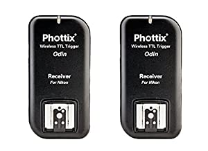 Phottix Odin TTL Flash Trigger//Receiver Kit for Canon