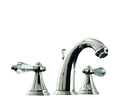 Santec Kriss Crystal Collection Widespread Lavatory Faucet - 2220KC10