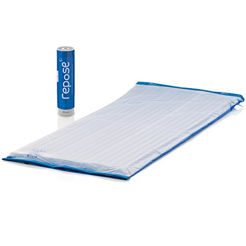 Repose Pressure Relieving Single Mattress Overlay and Pump