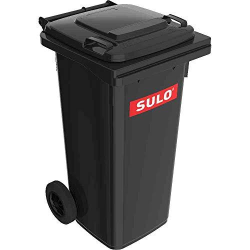 SULO Mülltonne Einsatz, mit 40 l, Einsatz zu Müllgroßbehälter 120 l, aus Kunststoff, in grau