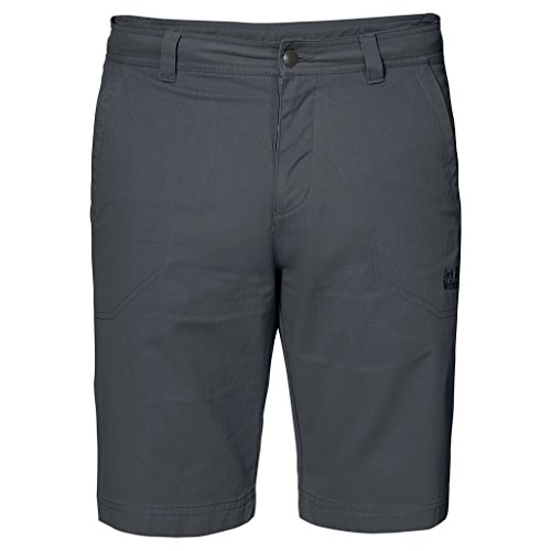 Jack Wolfskin Herren Drake Shorts, Herren, 1503831, Dark Iron, Size 54 (US 38