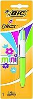 ビック918511-ボールペン、ミディアムチップ、蛍光イエロー