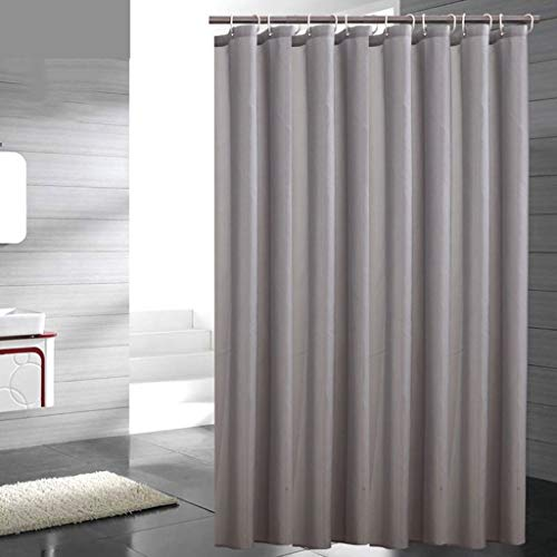 cortinas de baño gris