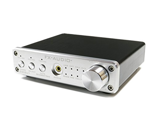 FX-AUDIO- D302J+『シルバー』 ハイレゾ対応デジタルアナログ4系統入力・フルデジタルアンプ