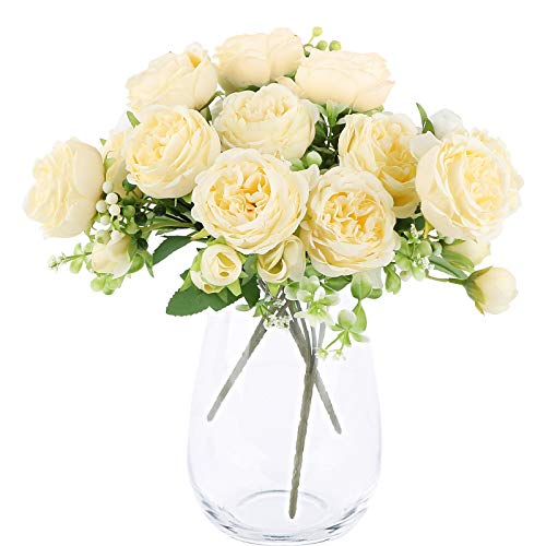 Flores Artificiales Decorativas Largas flores artificiales  Marca VINFUTUR