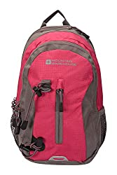 Pink and grey mini backpack from Mountain Warehouse