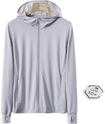 UPF 50 UV Sun Protection Women s Clothing Zip Up Hoodie Long Sleeve Fishing Running Hiking Jacket product image