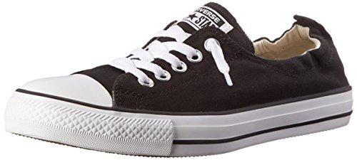 Converse Womens Chuck Taylor Shoreline Sneaker Black Size 8