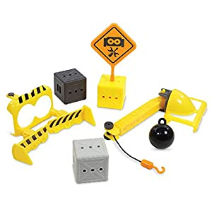 Learning Resources Botley Crashin' Construction Challenge, Accessory Set, Kids Coding, Construction Set, STEM Toy, Ages…