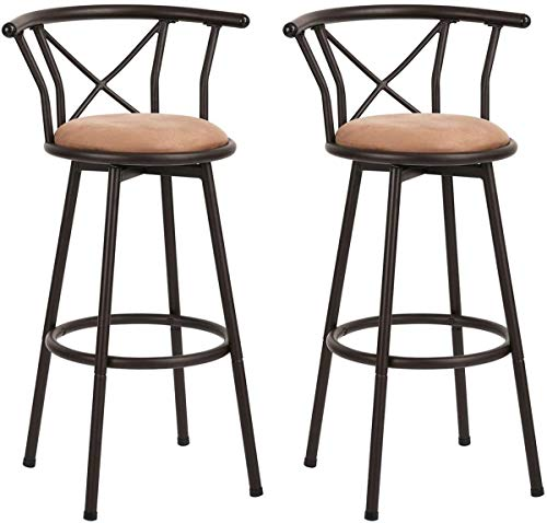 MEUBLE COSY Tabouret tabouret de bar, Marron /29\
