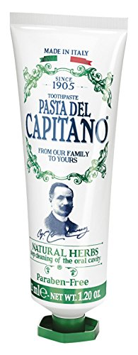 Pasta del Capitano 1905 Natuurlijke kruiden tandcrème, 25 ml