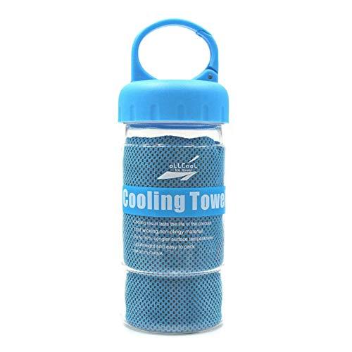 CAIZHAO Instant Stay Koeling Handdoek, Zacht Comfortabele Fysieke Koeling Chemische-Free Acarid-Proof Fit voor Fitness