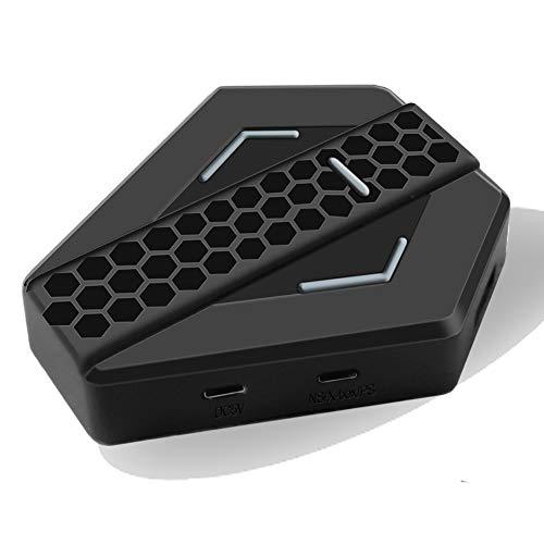Adaptador multifunción, ratón y teclado convertidor de control, de buena calidad, LED,...