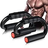 AIR-ONE SPORTS | Push Up Bars (Large Size, 480 lbs), Extra Thick Foam Grip and Non-Slip Bars, Perfect Push up Handles for Floor, Home Gym Equipment