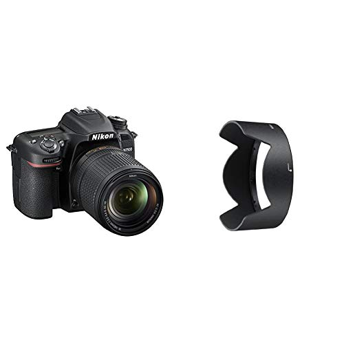 Nikon D7500 Fotocamera Reflex Digitale con Obiettivo AF-S DX NIKKOR 18-140mm f/3.5-5.6G ED VR, 20,9 Megapixel, Wi-Fi, Bluetooth, SD 8GB 300x Premium Lexar & Paraluce Hb 32