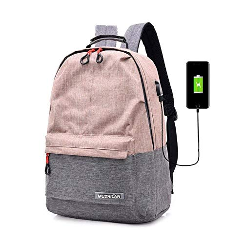 ARR Back Pack voor School Bag Bagpack Vrouwen College Canvas Rugzak Opladen Schooltas Laptop