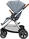Maxi-Cosi Adorra² - Silla de paseo para bebé, sistema de viaje, desde el nacimiento hasta 4 años, 0-22 kg, color gris