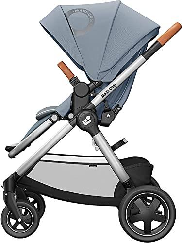 Maxi-Cosi Adorra² Kinderwagen Baby Kinderwagen Reisesystem ab Geburt bis 4 Jahre 0-22 kg Essential Grey