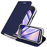 Cadorabo Funda Libro para Samsung Galaxy XCOVER 3 en Classy Azul Oscuro - Cubierta Proteccíon con...