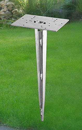 Trio Erdspieß für Pollerleuchte 40 x 20 x 14 cm 9960-07