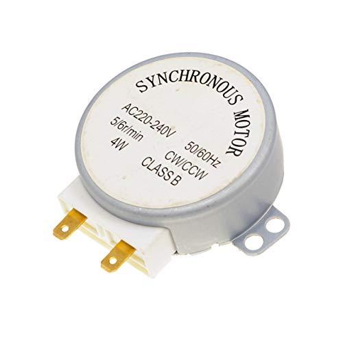 Mikrowelle TYJ50-8A7 4W 5/6 RPM 11mm Synchronmotor Spindle Drehteller-Motor für Ariete MW 480 SILVER