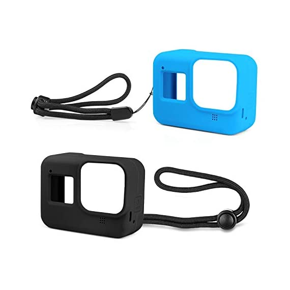 Deyard 60M Waterproof Case Compatible with GoPro Hero 8 Black Underwater Waterproof Protective Housing Case for GoPro… 1 Compatible Size: Specially designed for GoPro Hero 8. Easily operate the shutter/power button or select key/ Mode button underwater with an external button. Upgrade Convenience & Water Resistance: With an integrated design, convenient and time-saving to install and remove. The buckle is fastened with a buckle and a waterproof seal, which is good for extreme sports. 196ft Waterproof Depth & Superior Shockproof Thick Shell: With high strength shell, this GoPro case waterproof up to 196ft/60M. Protect your GoPro action camera for extreme sport like surfing, diving, snorkeling, skiing, drifting, skydiving cycling, etc.
